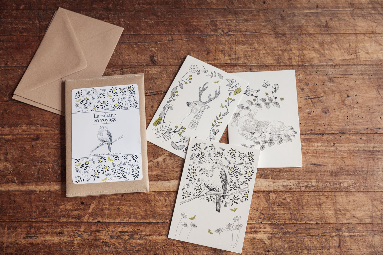 The Woodland Animals Collection.
