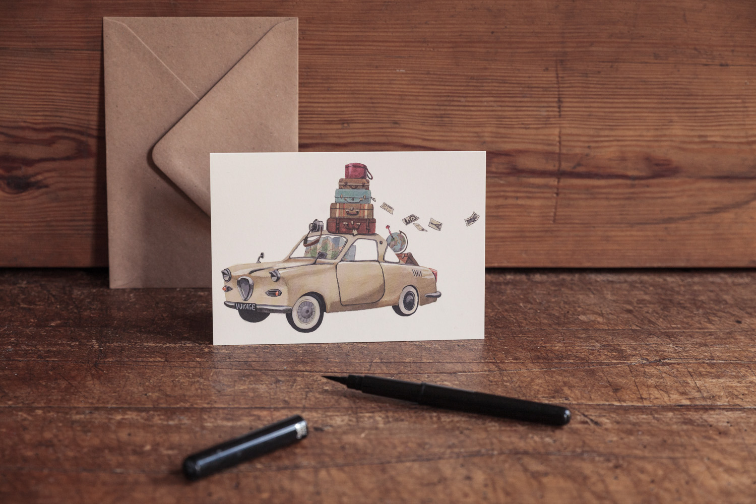 This one is one of my favorites, I would love to go on a voyage with an oldtimer sometime...