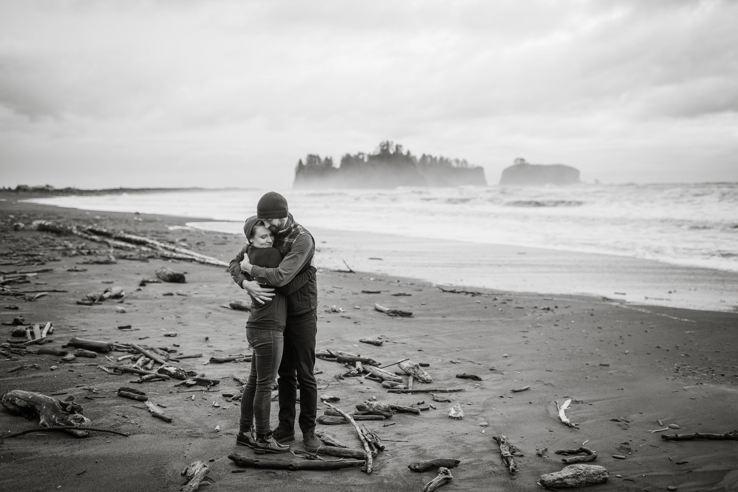 Rialto Beach Destination Engagement Session