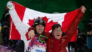 Alex Bilodeau and his inspiration, his brother