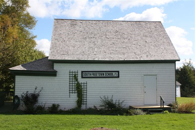 The schoolhouse at the International Children's Memorial Place