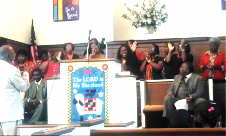 """15.00                  Pastor Robert Pitts, seated at right, listens as the visiting choir from a sister Baptist Church presents special music during the 12th Anniversary Celebration Service at Harvest Fellowship Baptist Church in Greenville.             Normal   0           false   false   false     EN-US   JA   X-NONE                                                                                                                                                                                                                                                                                                                                                                                                                                                                                                                                                                                                                                                                                                                                                                                                                                                                    /* Style Definitions */  table.MsoNormalTable {mso-style-name:""""Table Normal""""; mso-tstyle-rowband-size:0; mso-tstyle-colband-size:0; mso-style-noshow:yes; mso-style-priority:99; mso-style-parent:""""""""; mso-padding-alt:0in 5.4pt 0in 5.4pt; mso-para-margin:0in; mso-para-margin-bottom:.0001pt; mso-pagination:widow-orphan; font-size:12.0pt; font-family:""""Cambria"""",serif; mso-ascii-font-family:Cambria; mso-ascii-theme-font:minor-latin; mso-hansi-font-family:Cambria; mso-hansi-theme-font:minor-latin;}"""