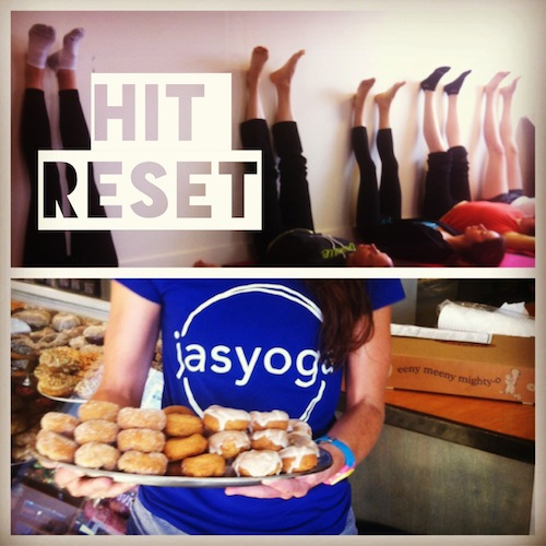 reset and donuts
