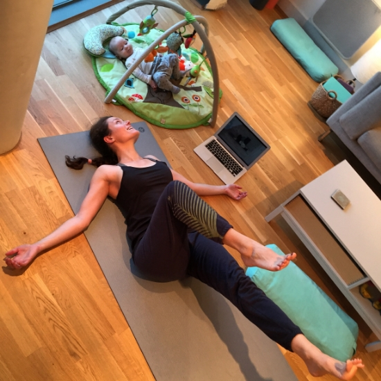 Jasyoga  5-Minute Reset videos  are my go-to.