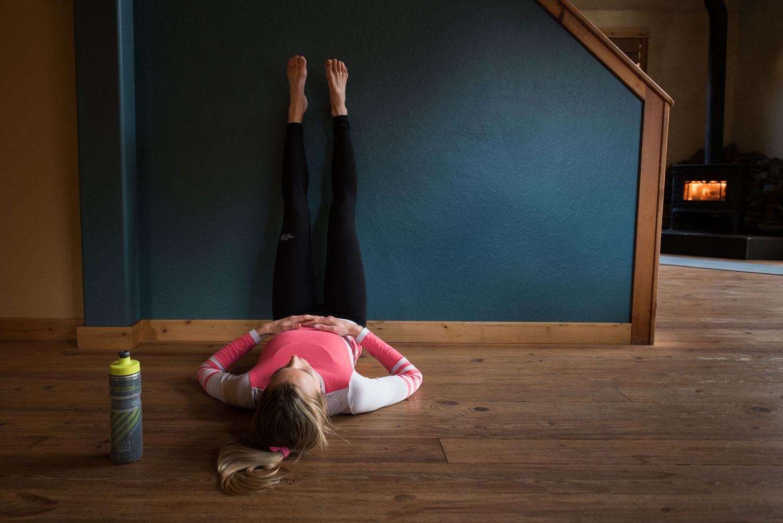 Athlete for Yoga Stephanie Howe Violett getting it done.