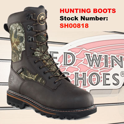 Hunting Boots — Greenfield Red Wing Shoes