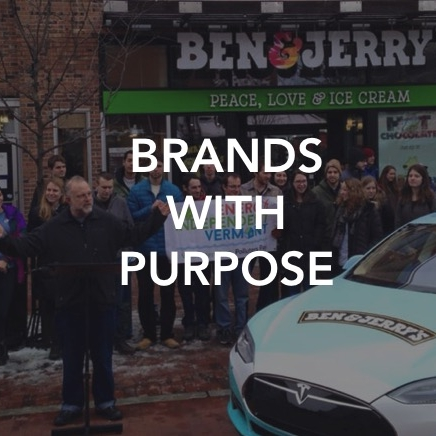 We help brand teams define and activate their purpose. It is no longer enough for brands to claim that they deliver an affordable product responsibly. They must have a point of view on the company's role in society, and a clear and authentic strategy to engage consumers around the vision.