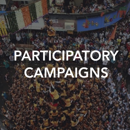 Much has changed in the past 20 years to empower us as individuals, and expand the potential of our networks. People can connect, learn and exchange at a speed and scale never before possible. We build participatory campaigns that harness this power.