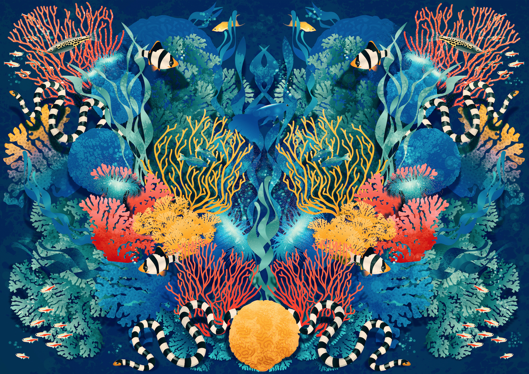 Ocean pattern. 2016.