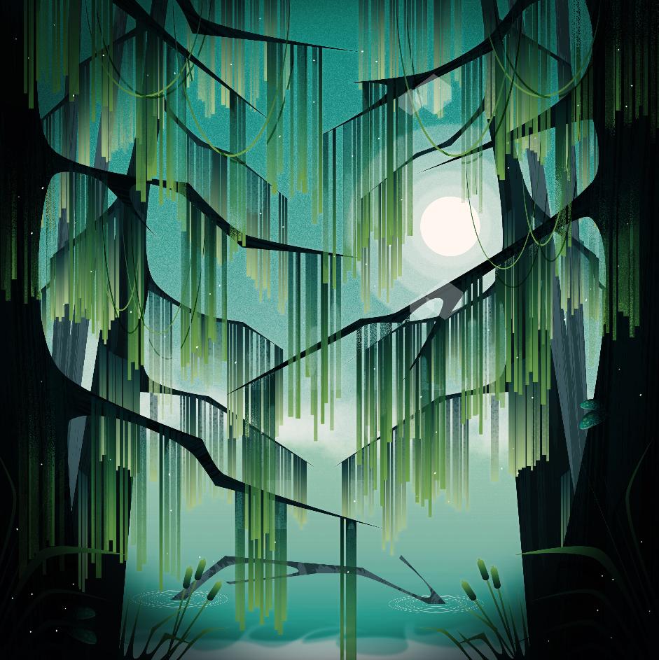 Spooky swamp. 2018.