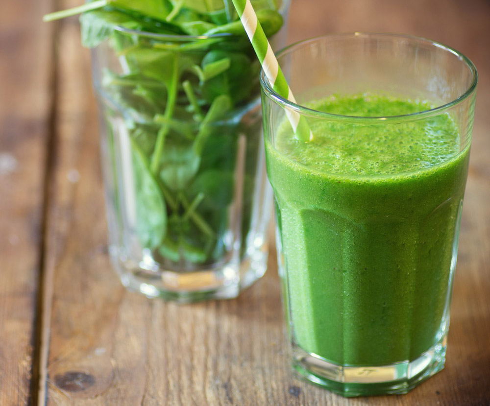 Vegetable juicing for cellulite