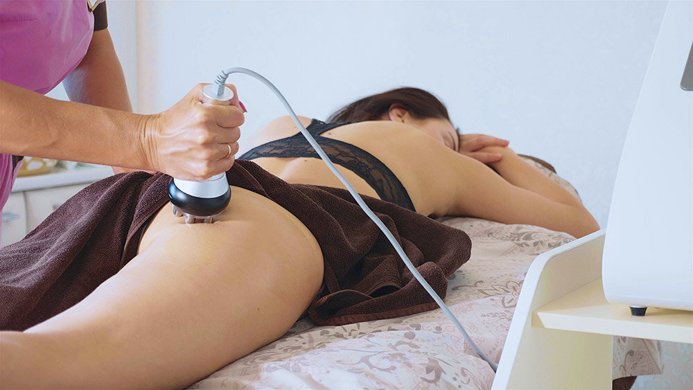 Tightening up the skin externally, for non non-surgical bum lifting