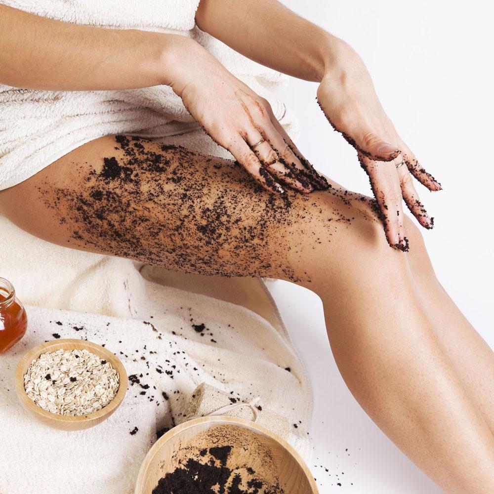 Do ground coffee scrubs work for cellulite? - The Cellulite Experts |  LipoTherapeia, London