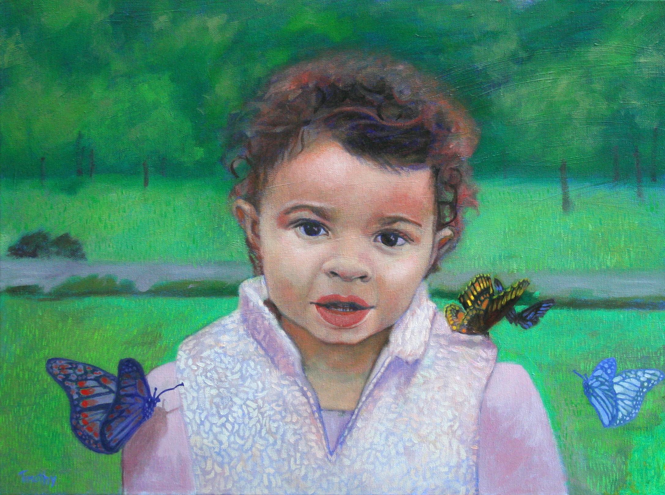 Kyra Spraggins - my Niece's daughter.