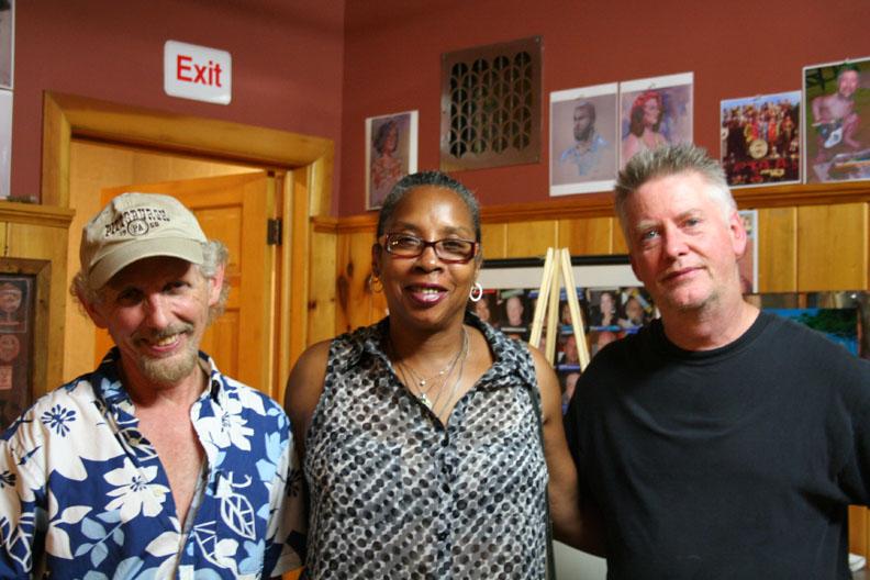 Larry Zuzik, Melody Moss and Timothy Herron