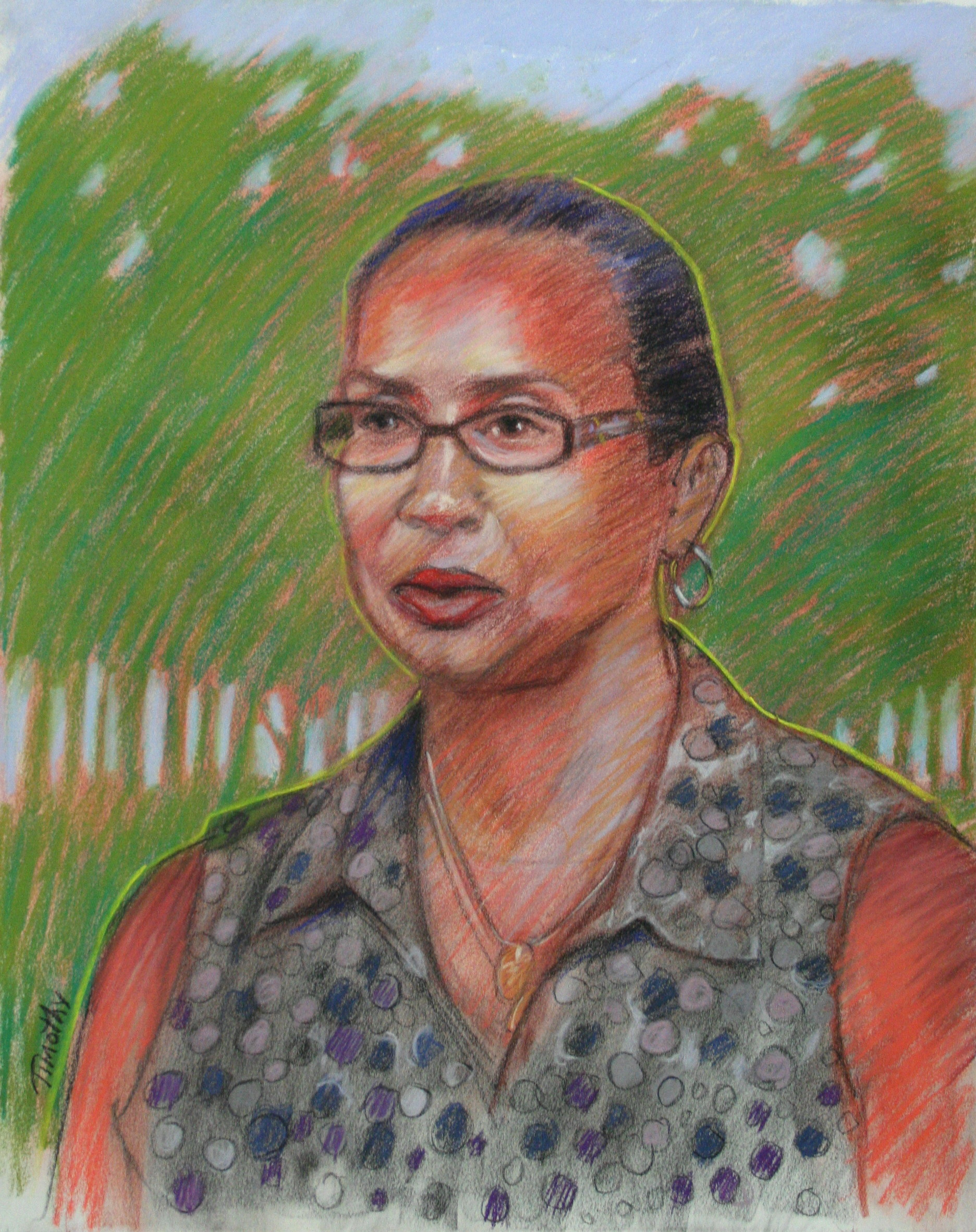 Melody Moss by Timothy Herron - Pastels 2013
