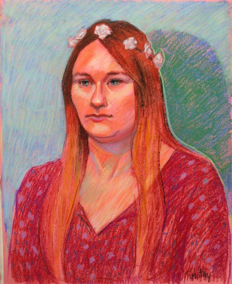 Tim Herron / 3hr Pastel Drawing