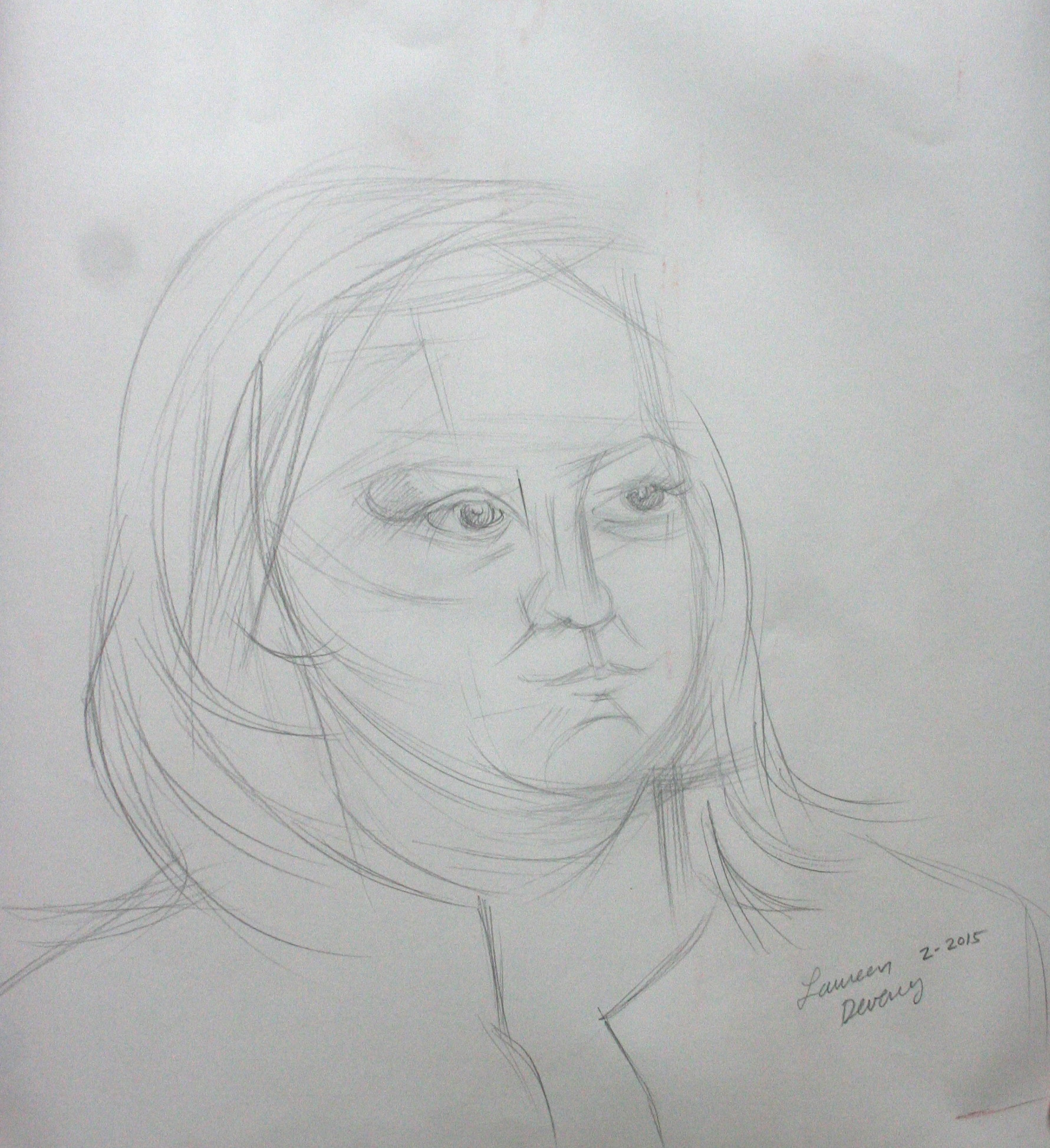 Laureen Deveney did this hour drawing.