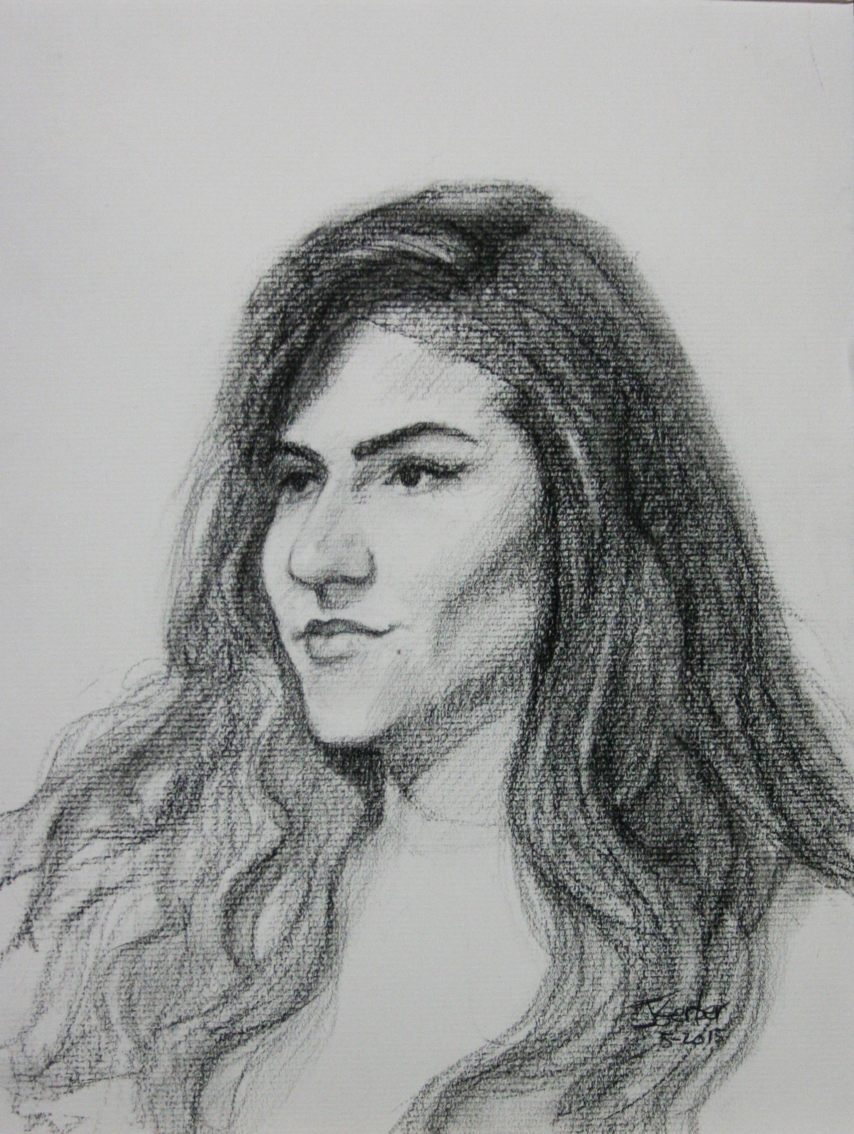 JIm Gerber did this 3-hour drawing.