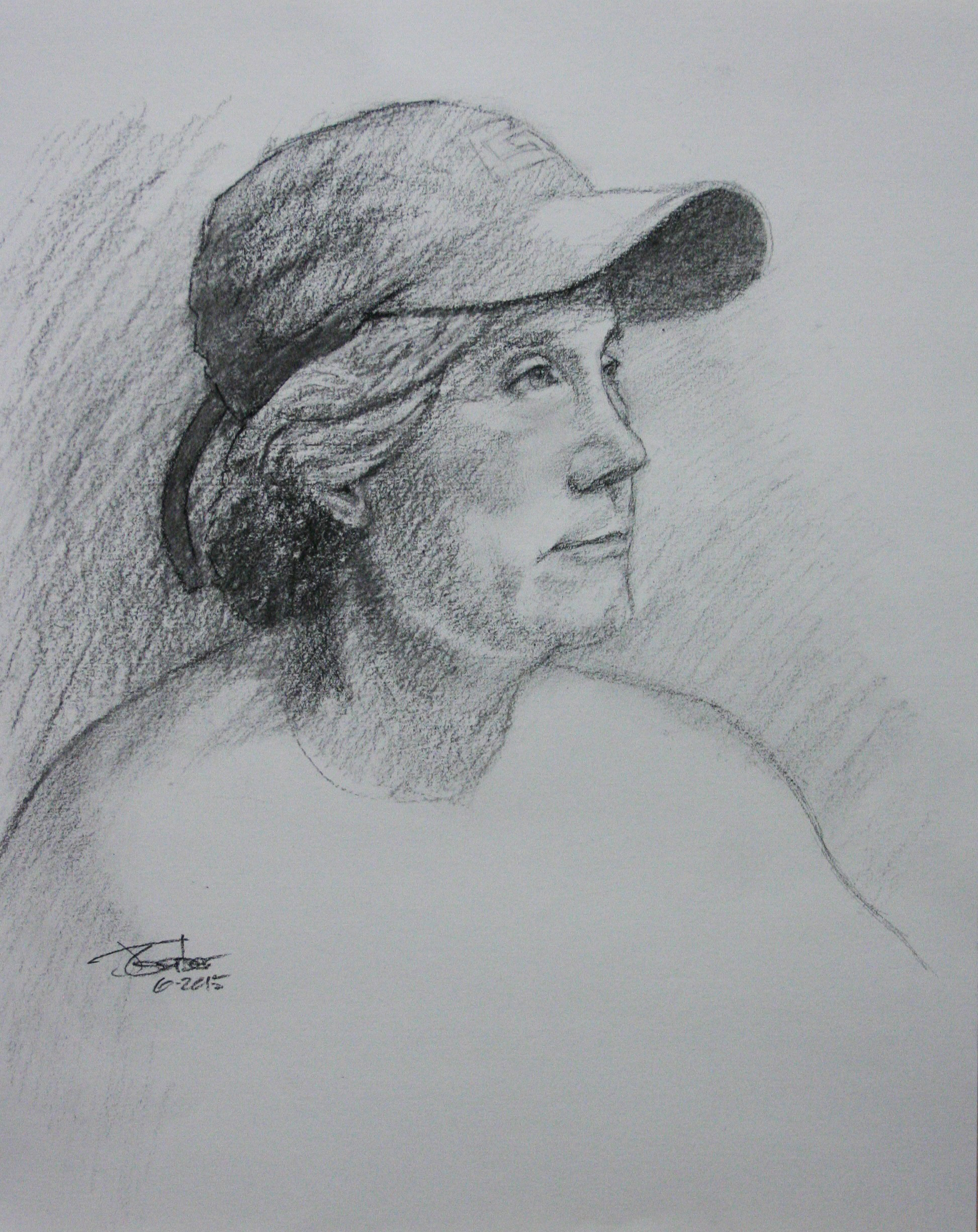 Jim Gerber did this two and a half hour drawing.