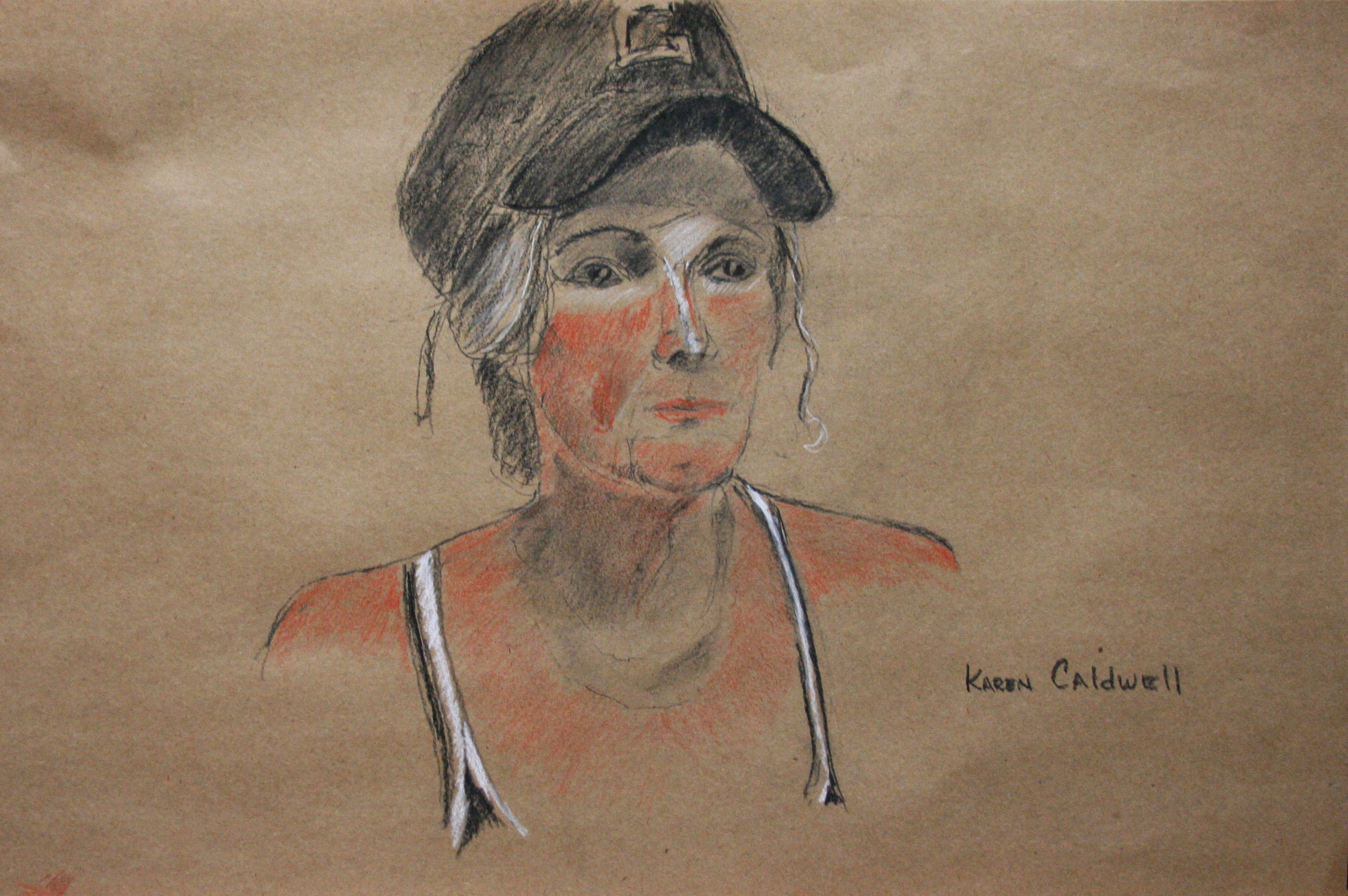 Karen Caldwell did this two and a half hour drawing.