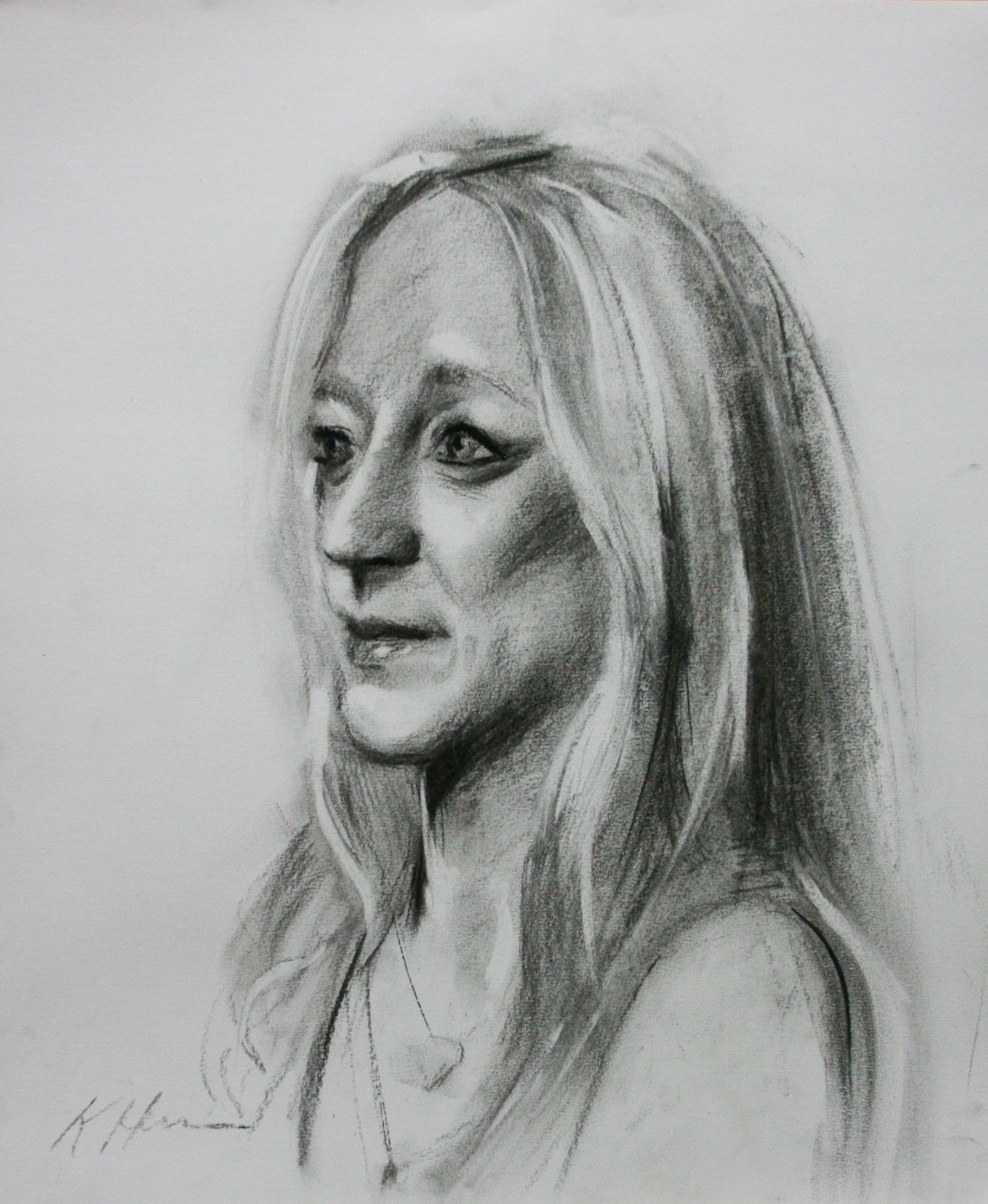 Kathryn Heim did this hour and a half drawing.