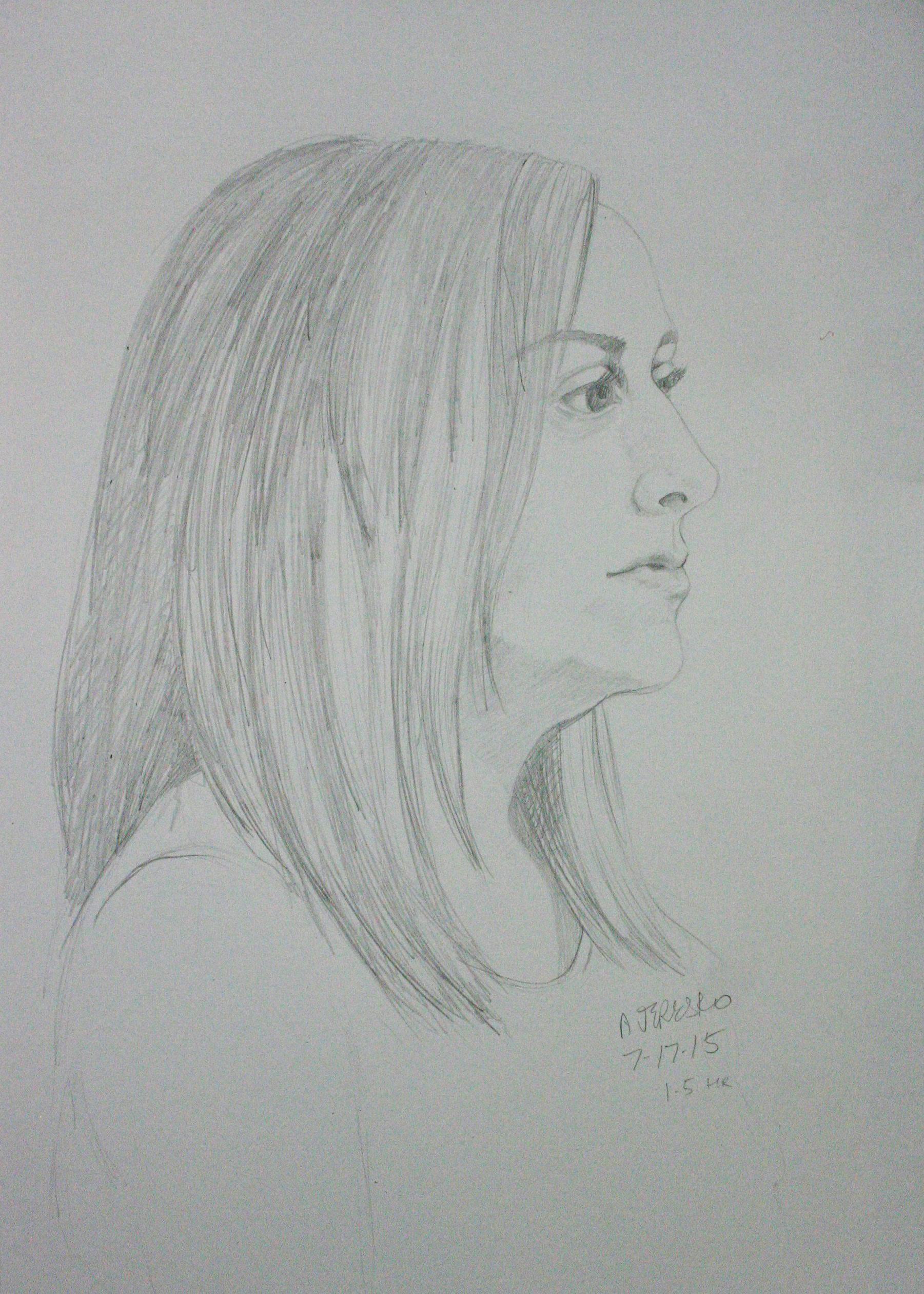 Alice Jeresko did this hour drawing.