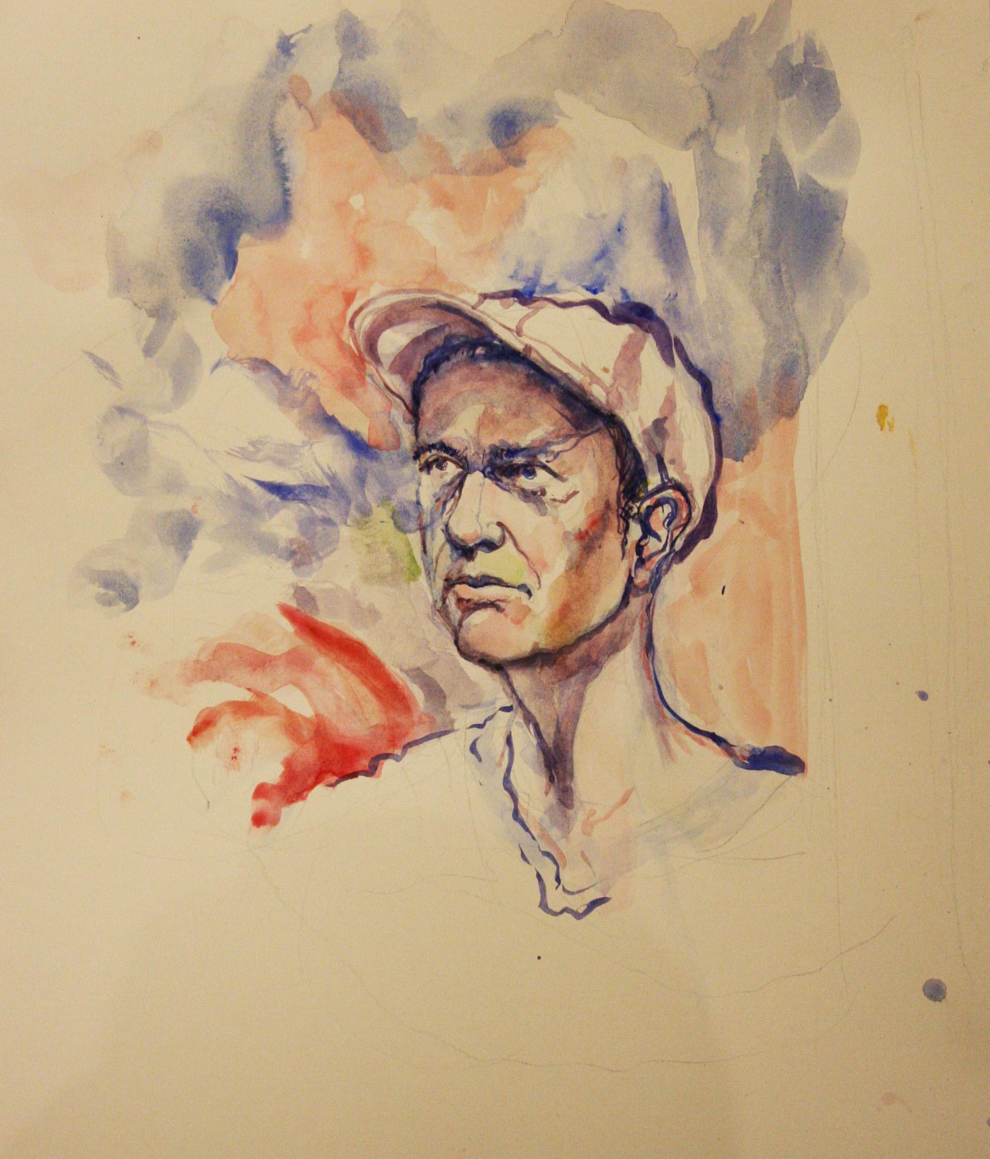 Ryan Oddo did this 3-hour watercolor.