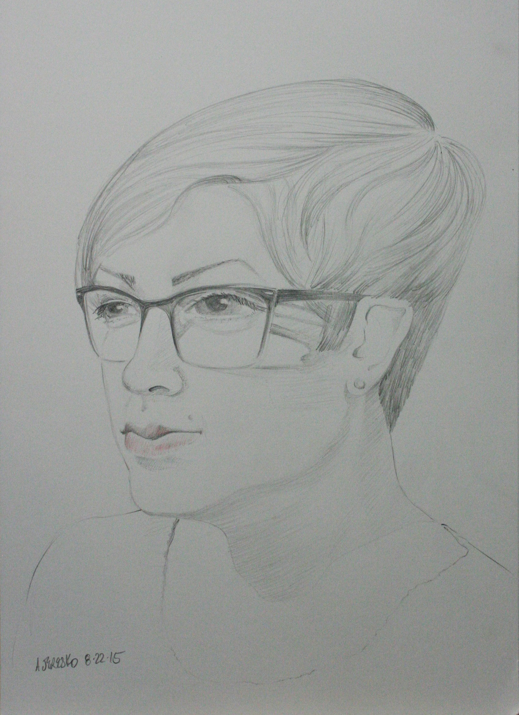 Alice Jeresko did this hour and a half drawing.