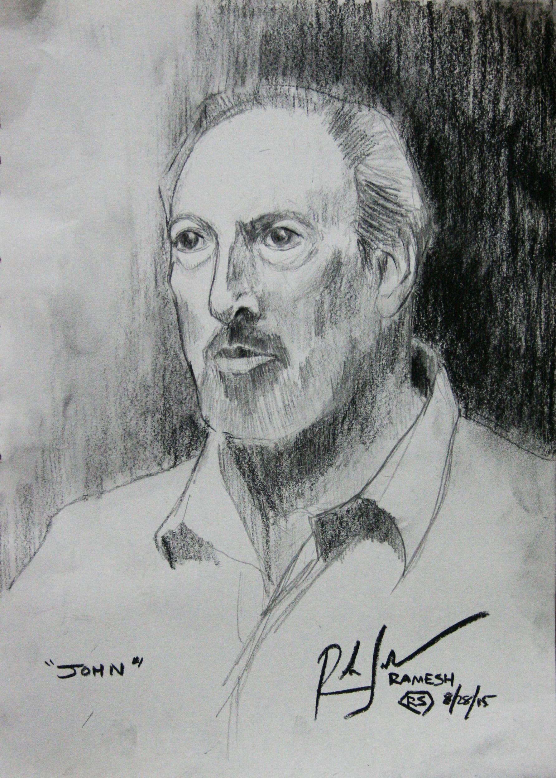 Ramesh Subramanium did this hour drawing.
