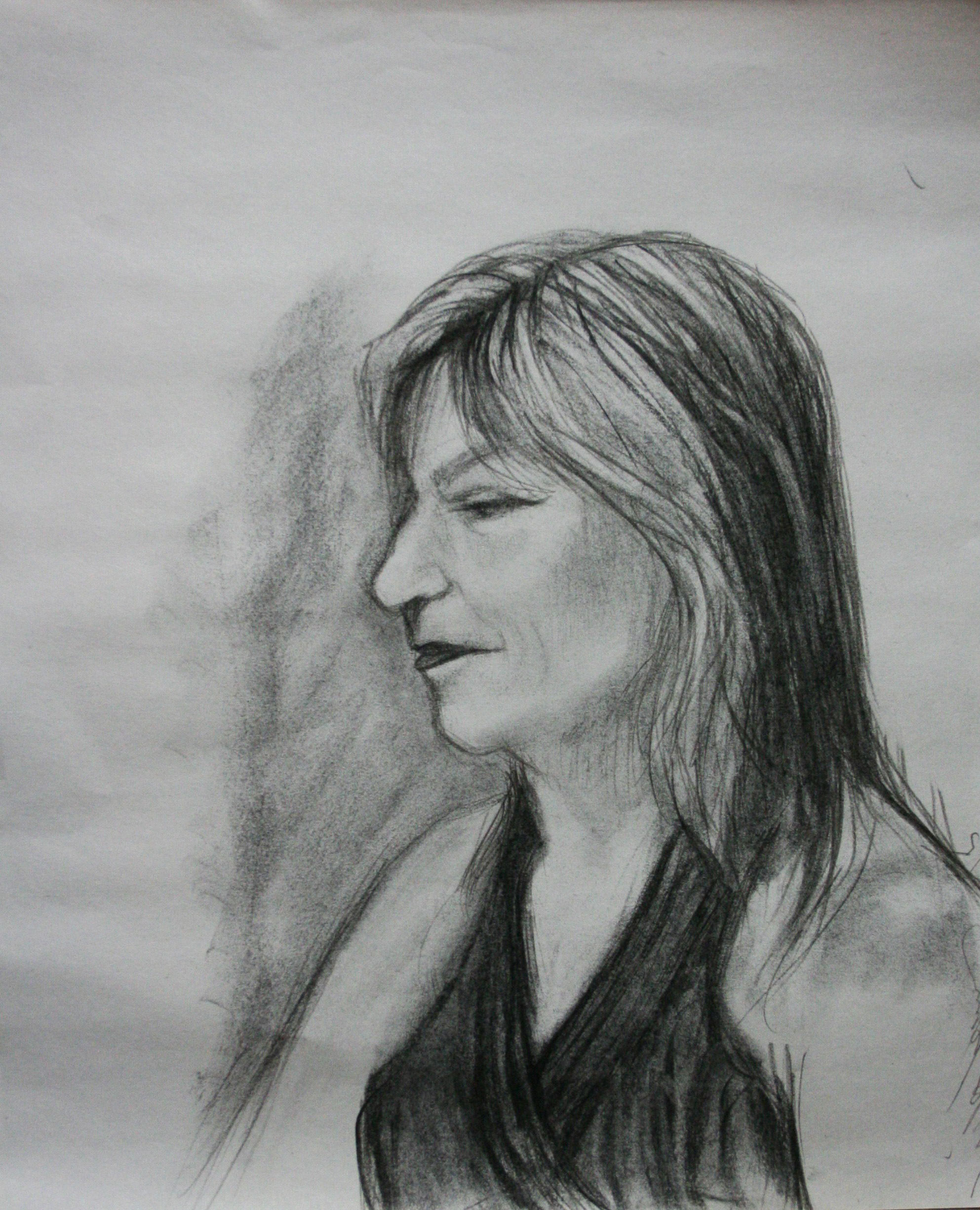 Linda Herman did this hour and a half drawing.