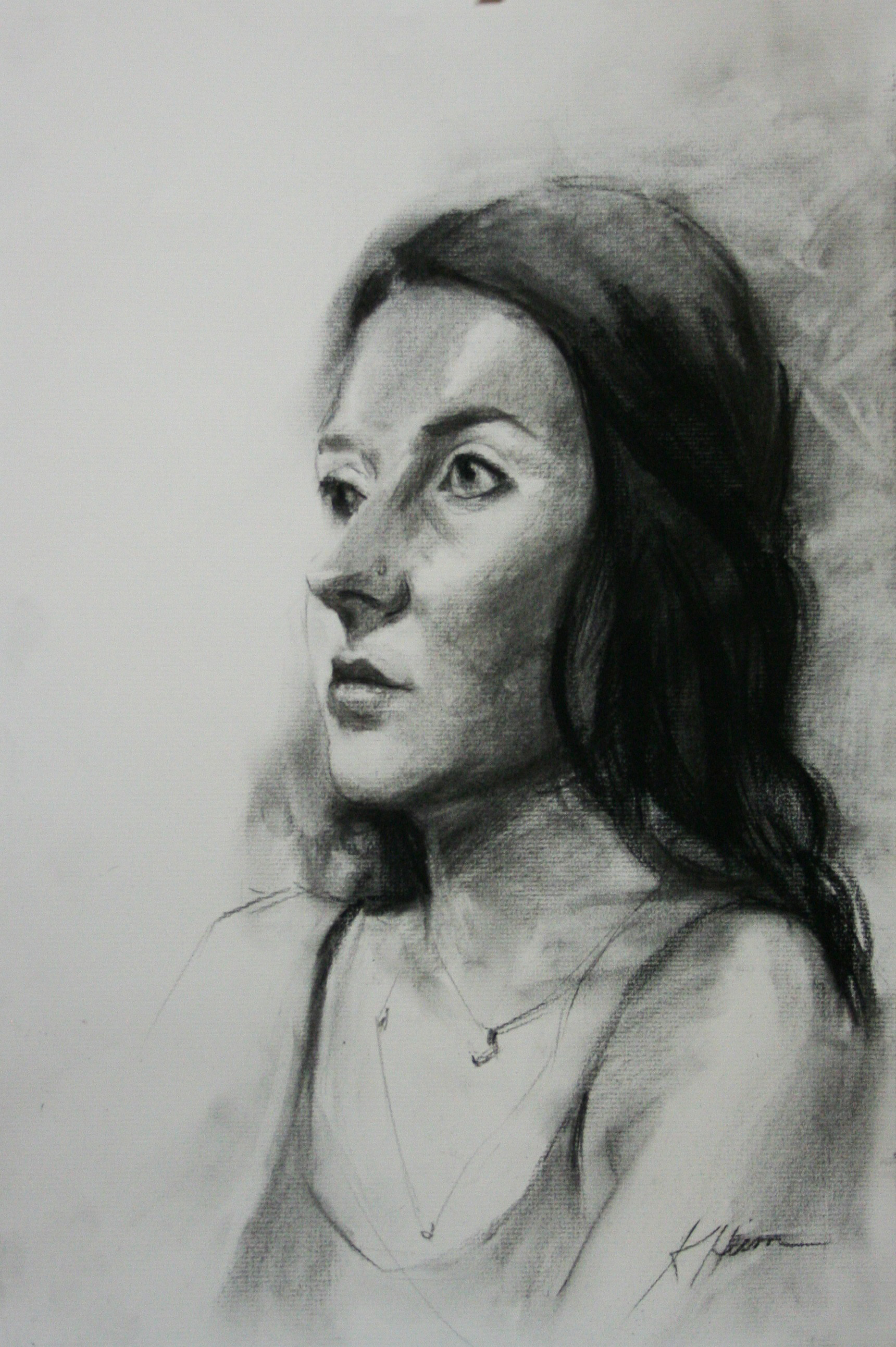 Kathryn Heim did this hour drawing.