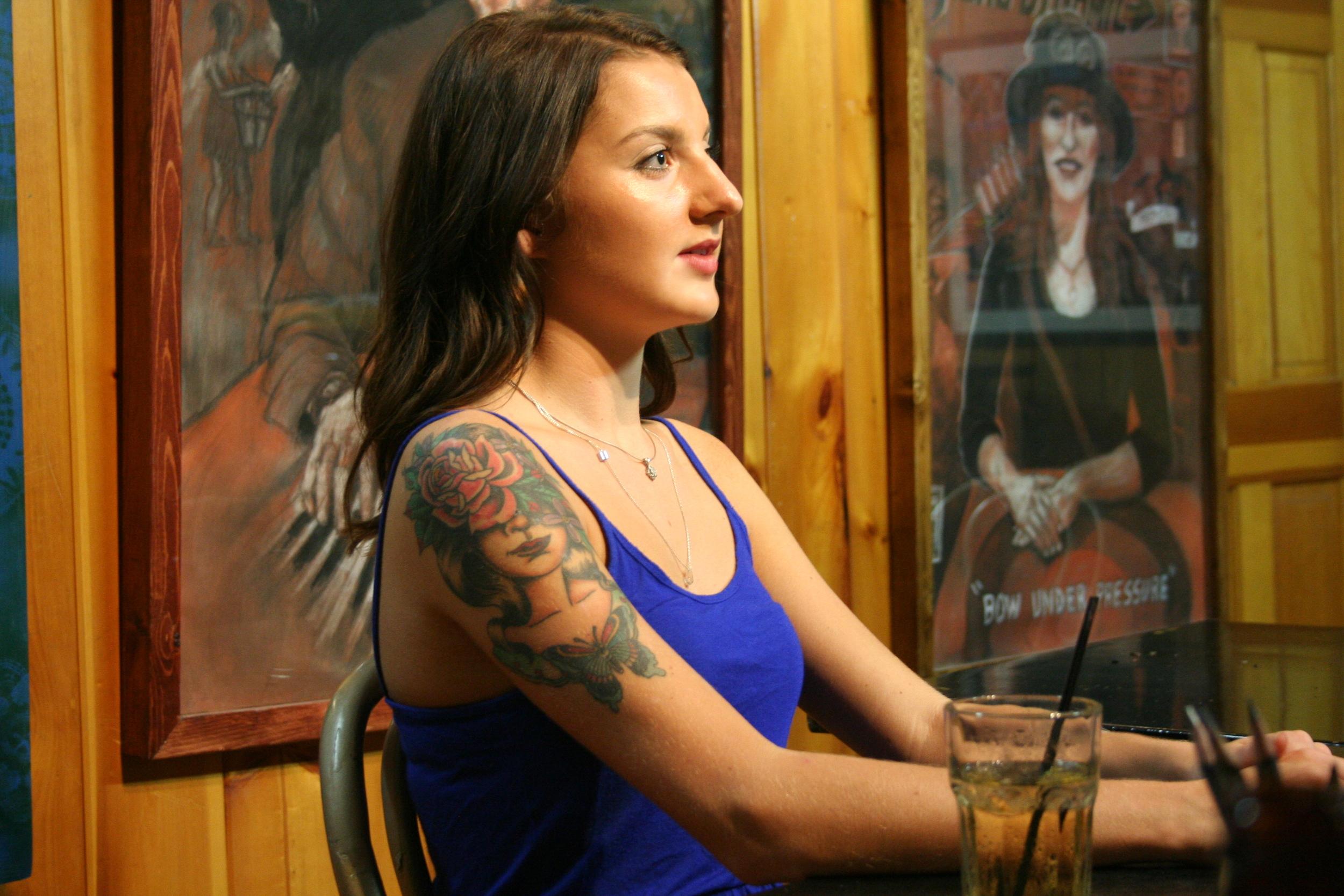 Profile of Erin.