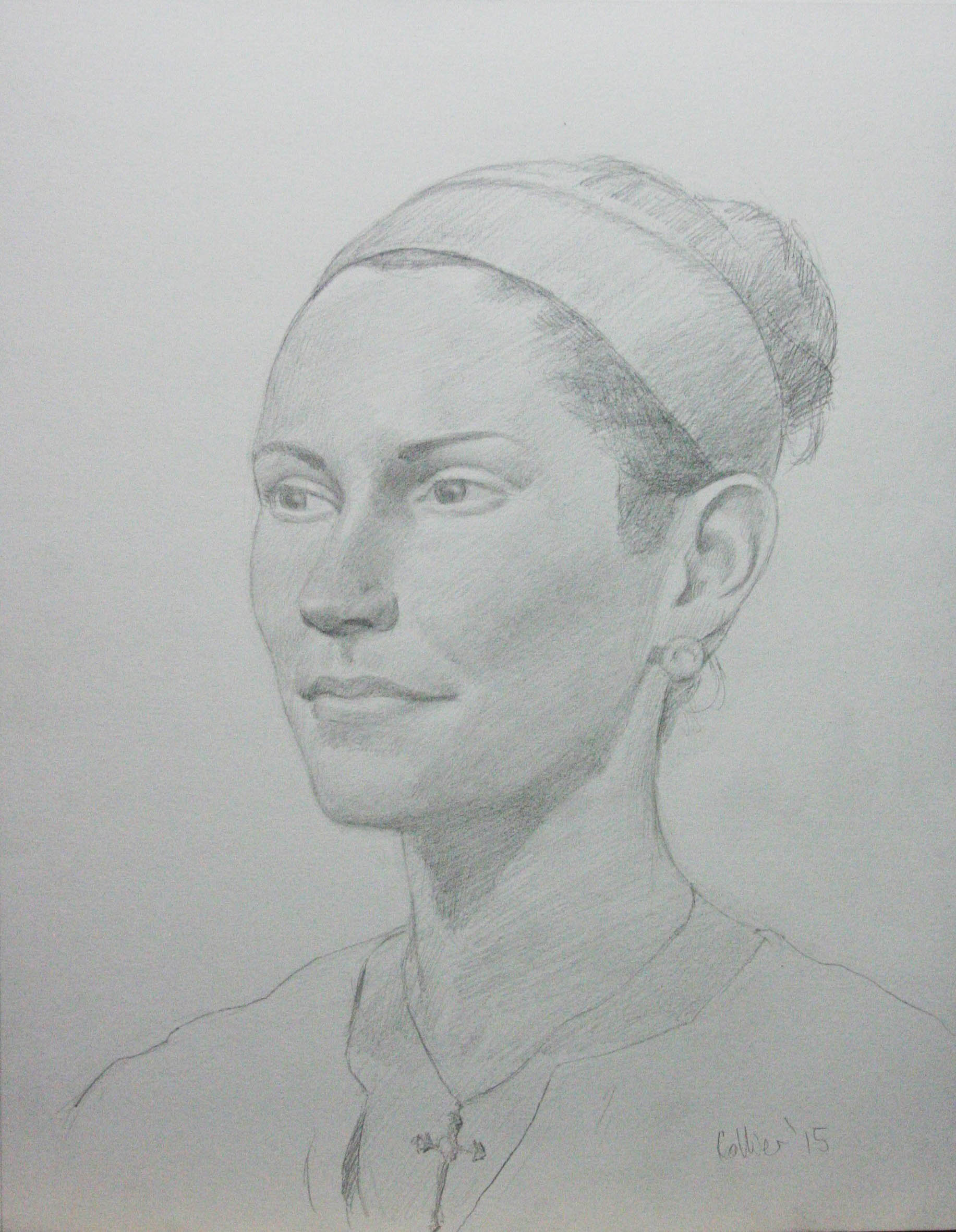 Howard Collier did this 3-hour drawing.