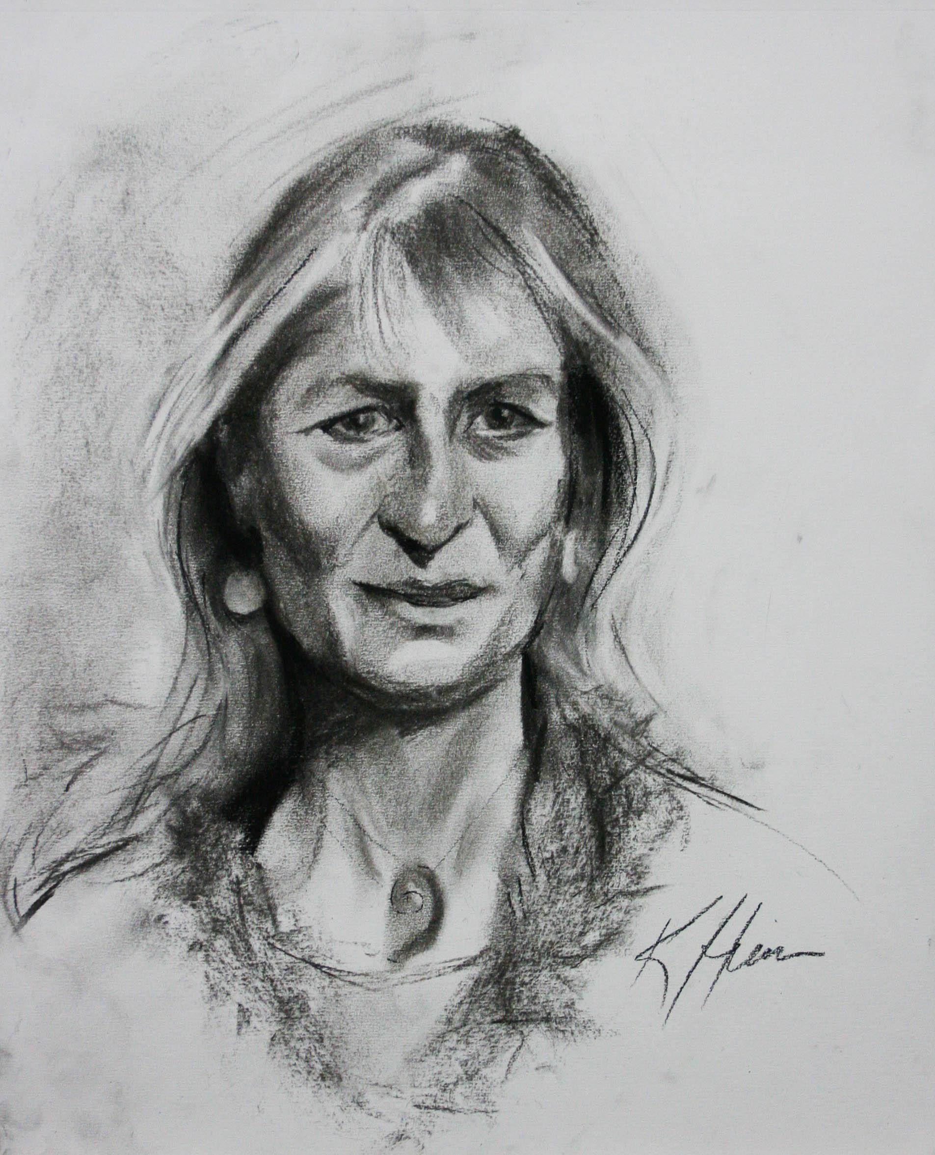 Kathryn Heim did this half hour drawing.