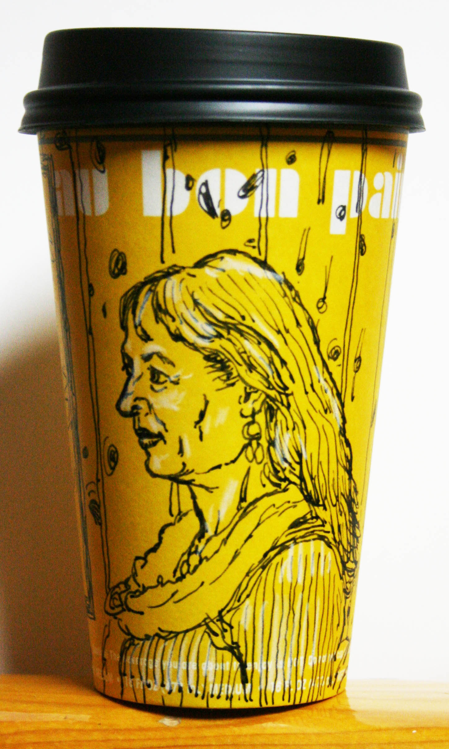 Jack Flotte did this Cup O' Beth Wolfe.