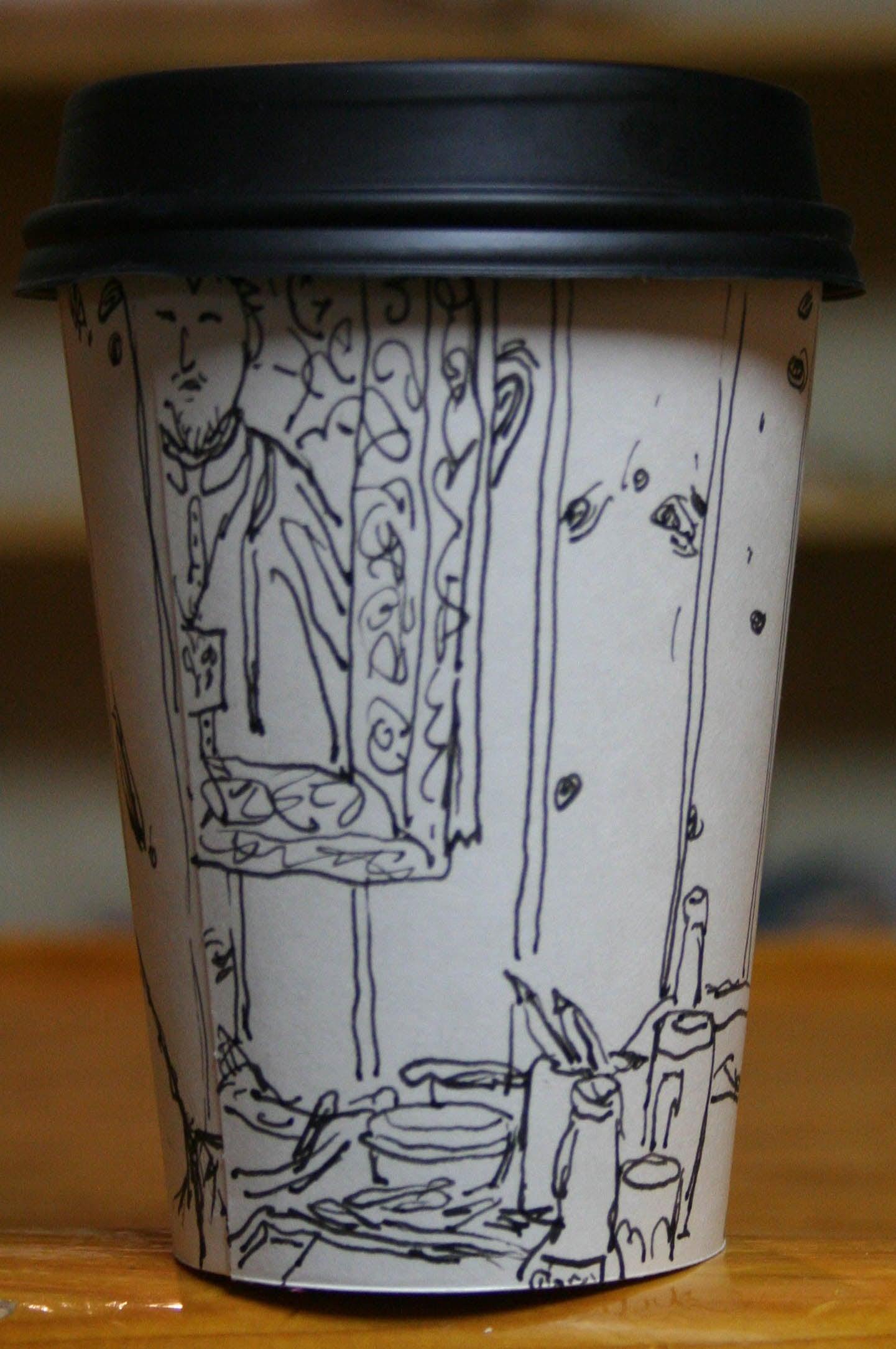 Back side of Jack Flotte's Cup O'Rafael.