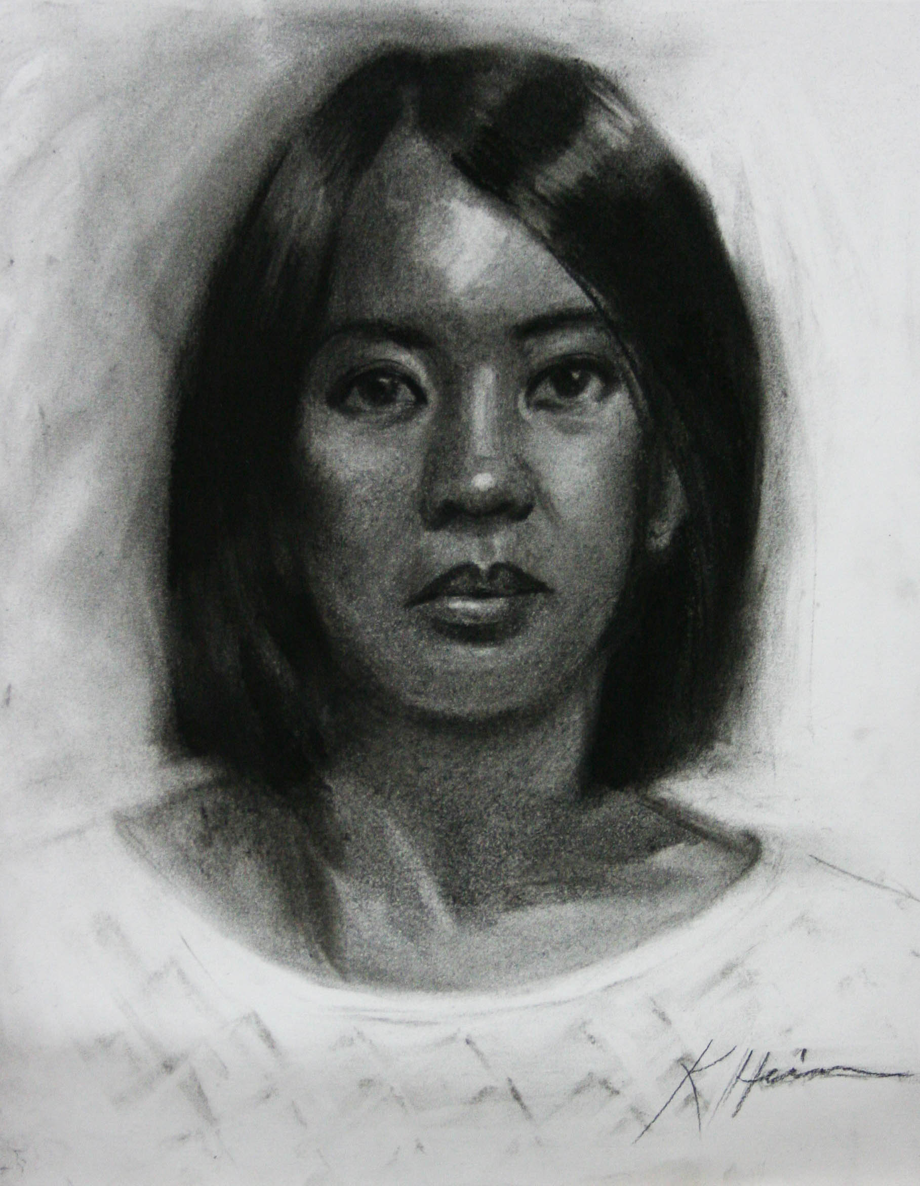 Kathryn Heim did this two and a half hour drawing.