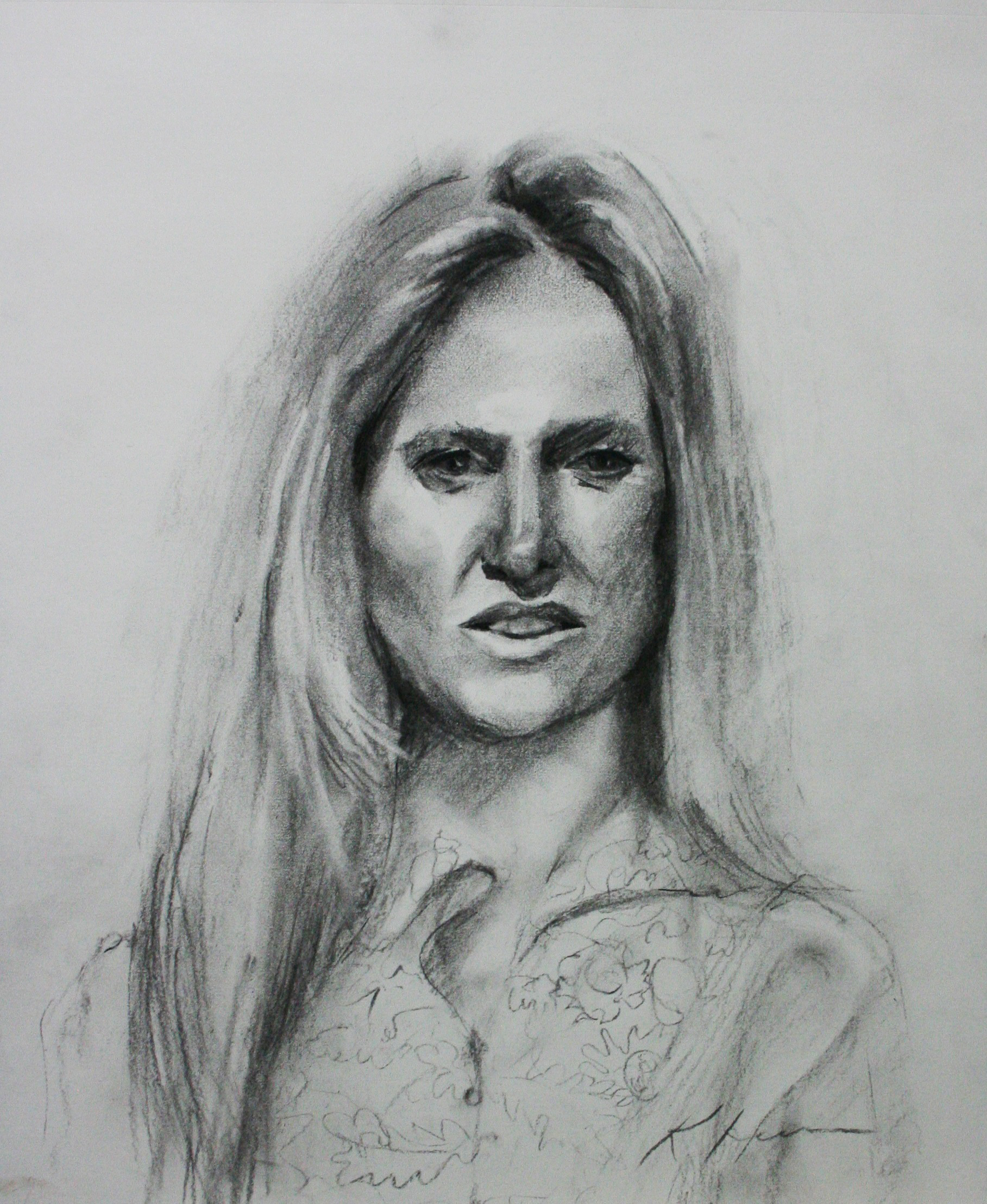 Kathryn Heim did this hour sketch.