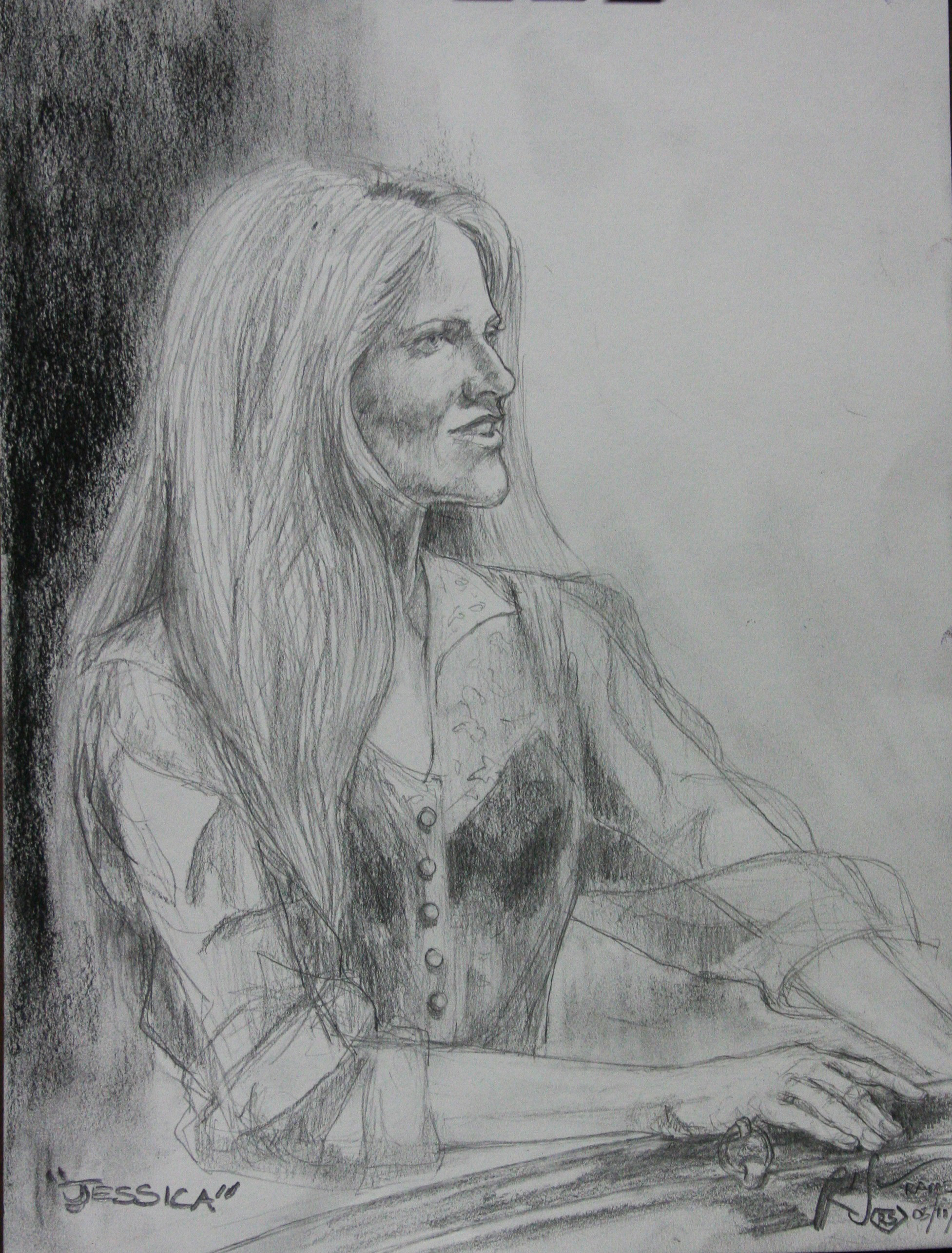 Ramesh Subramanium did this 2-hour drawing.
