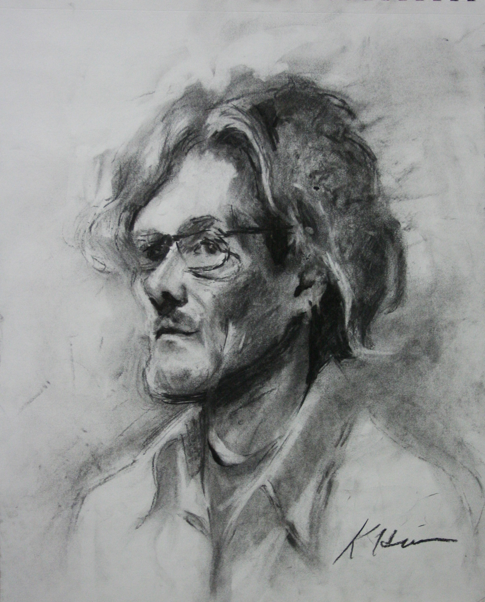Kathryn Heim did this two hour drawing.