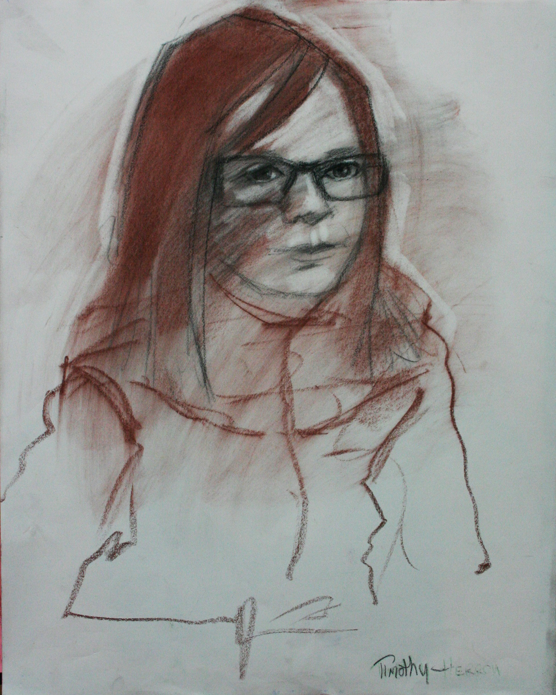 Timothy Herron did this 15 minute sketch.