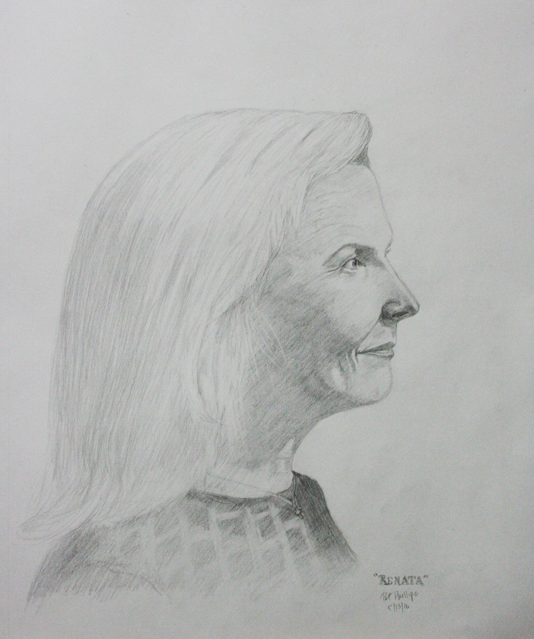 Pat Phillips did this 3-hour drawing.