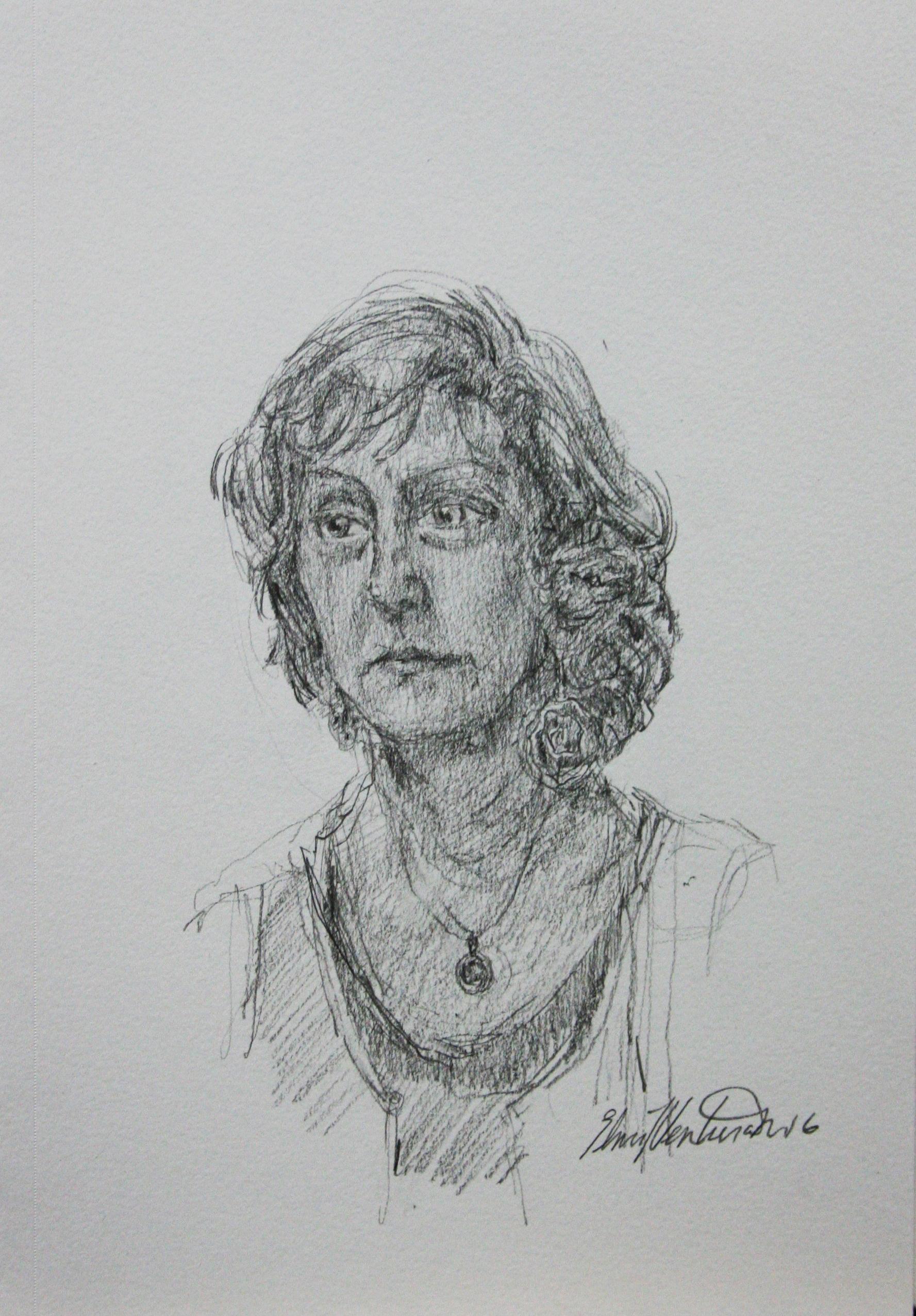 Elmi L. Ventura Mata did this hour drawing.