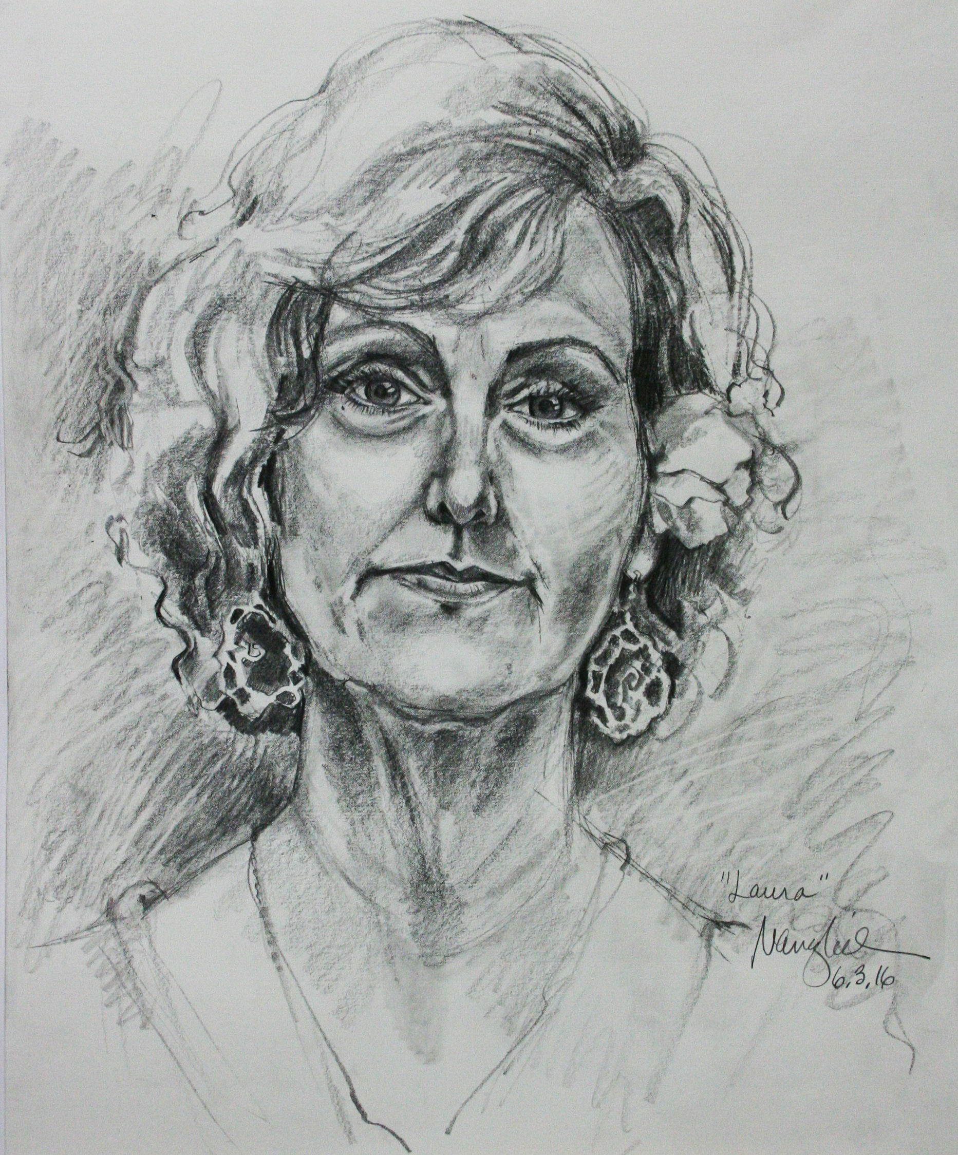 Nancy Lick did this 3-hour drawing.