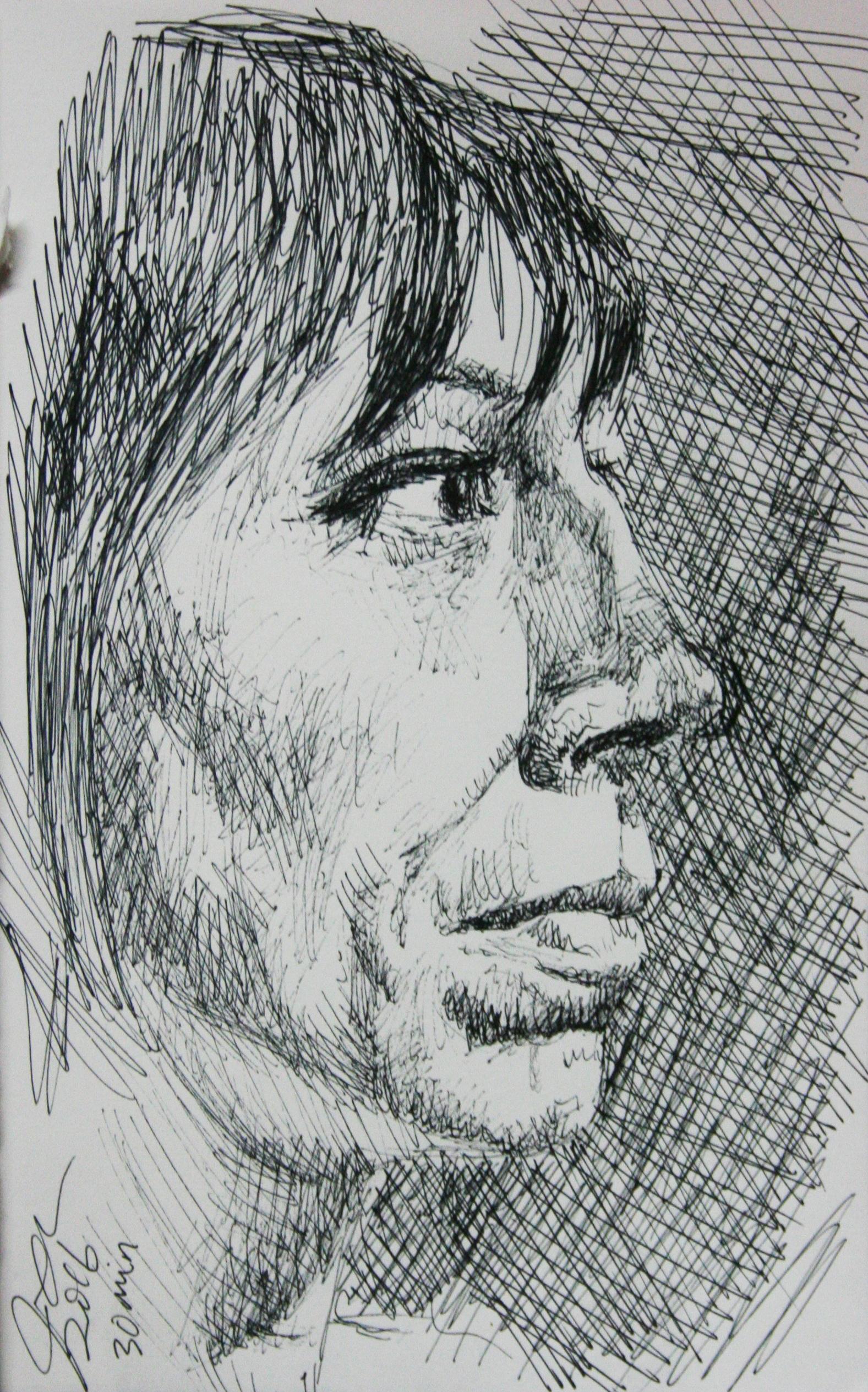 Jason K. Milburn did this hour drawing.