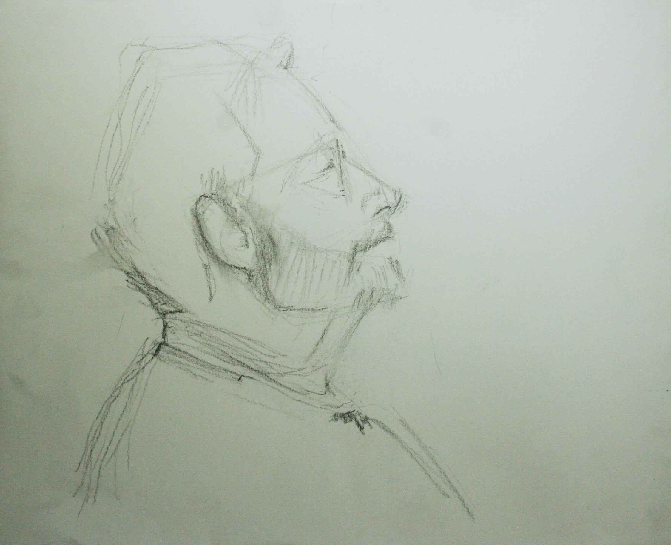 William Leedy did this half hour sketch.