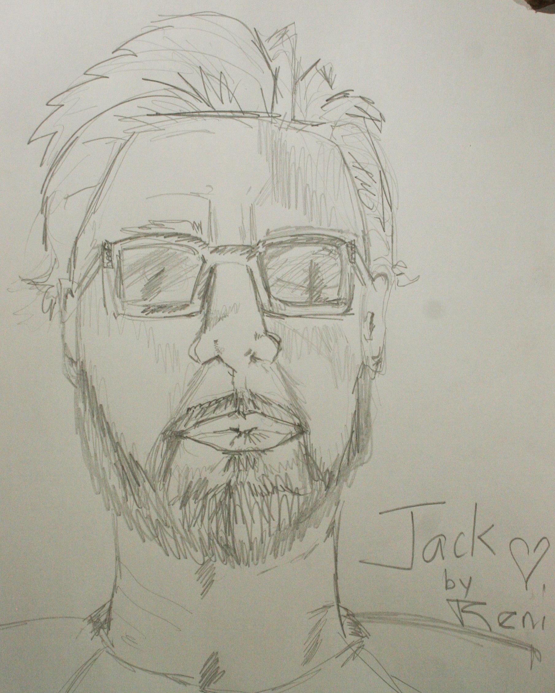 Renata Jenkins did this half hour sketch.