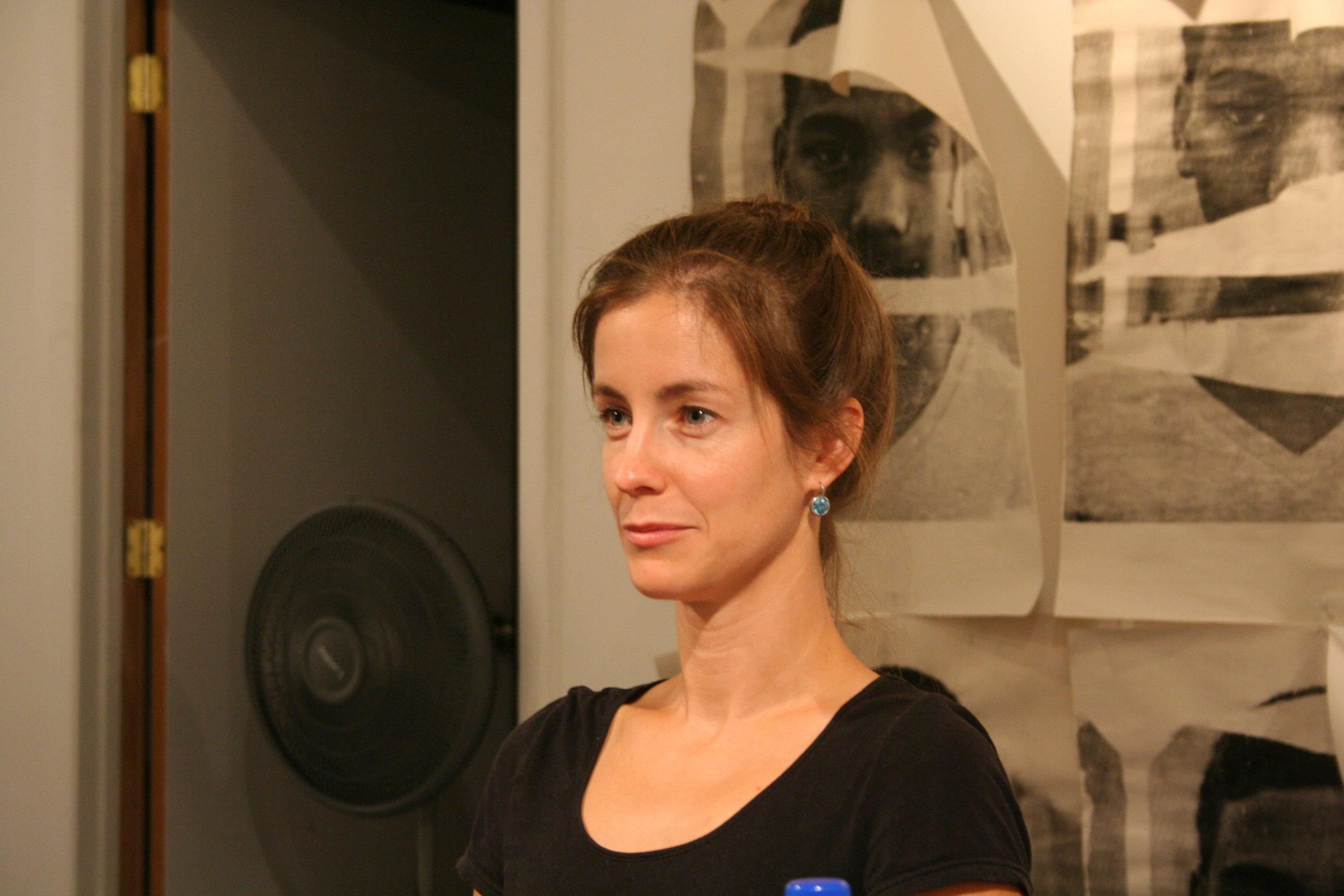 Kristina Eisenhower at Waterloo Arts.JPG