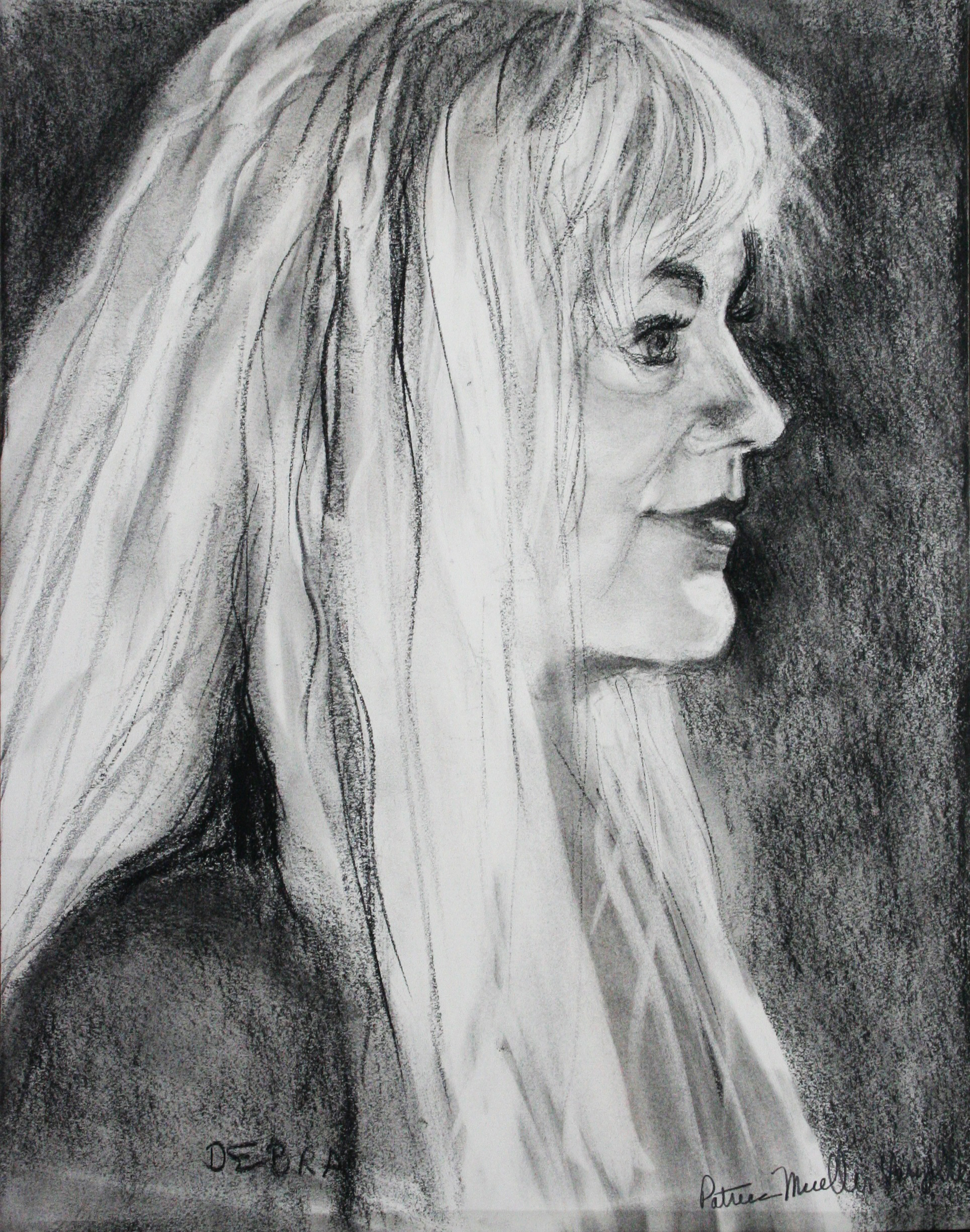 Patrice Varzelle did this 2-hour drawing.